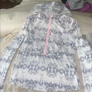 Annika by cutter and buck half zip pullover